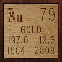 Золото металлическое (Aurum metallicum)